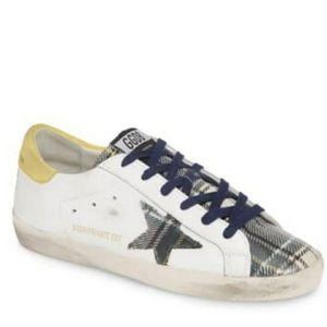 New GOLDEN GOOSE  Superstar Sneaker size 38